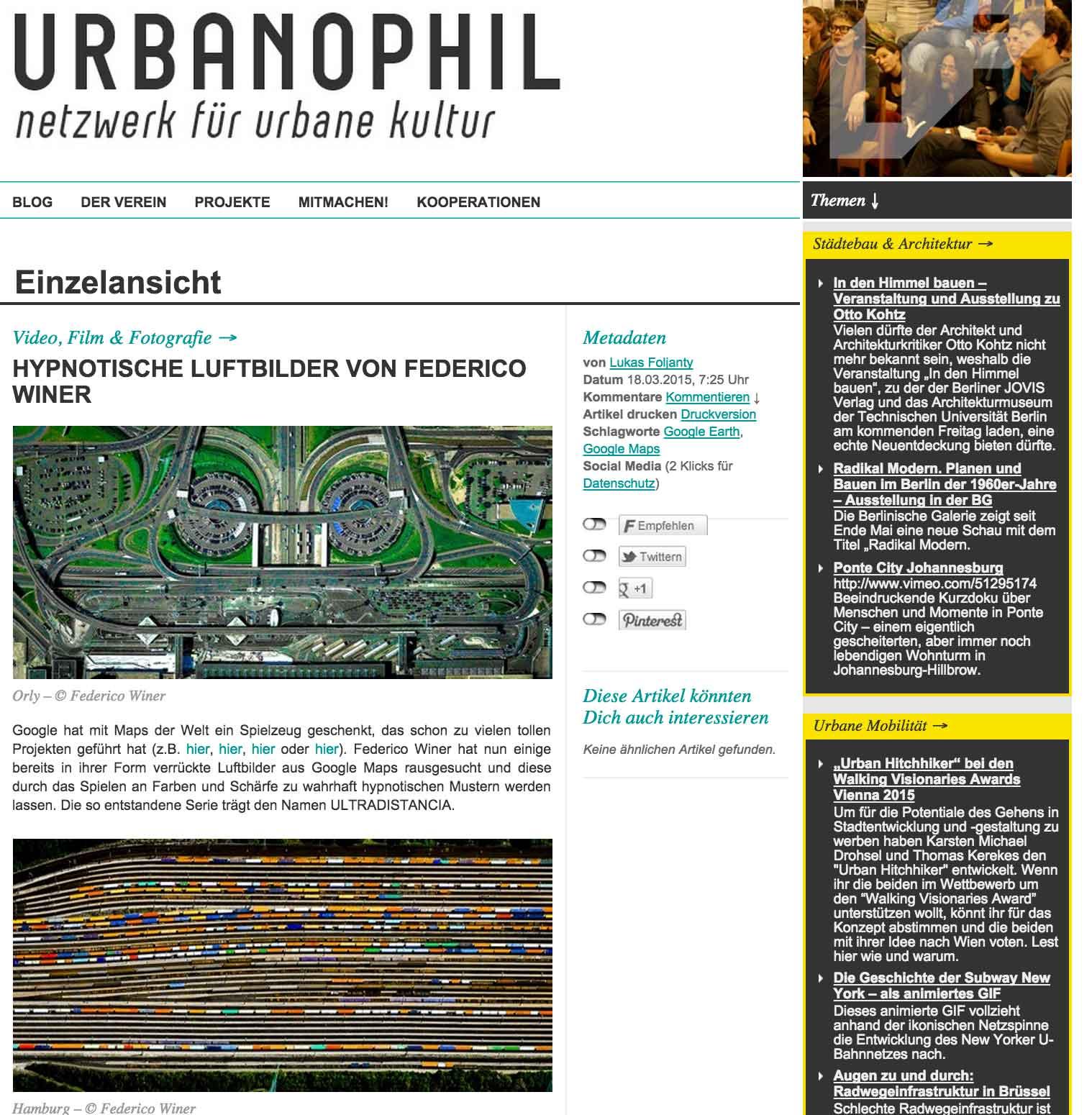 Urbanophil - DE