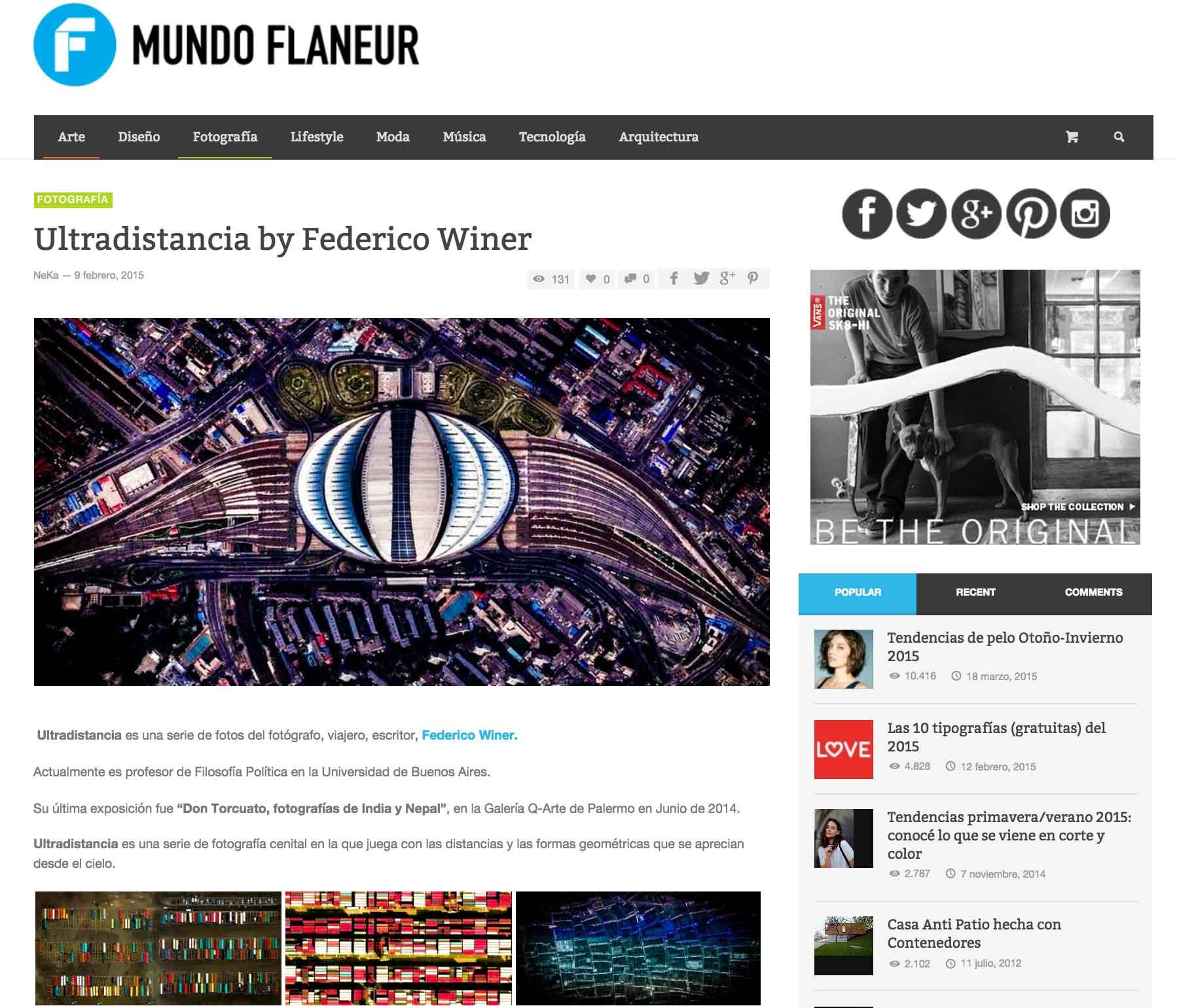 Mundo Flaneur - AR