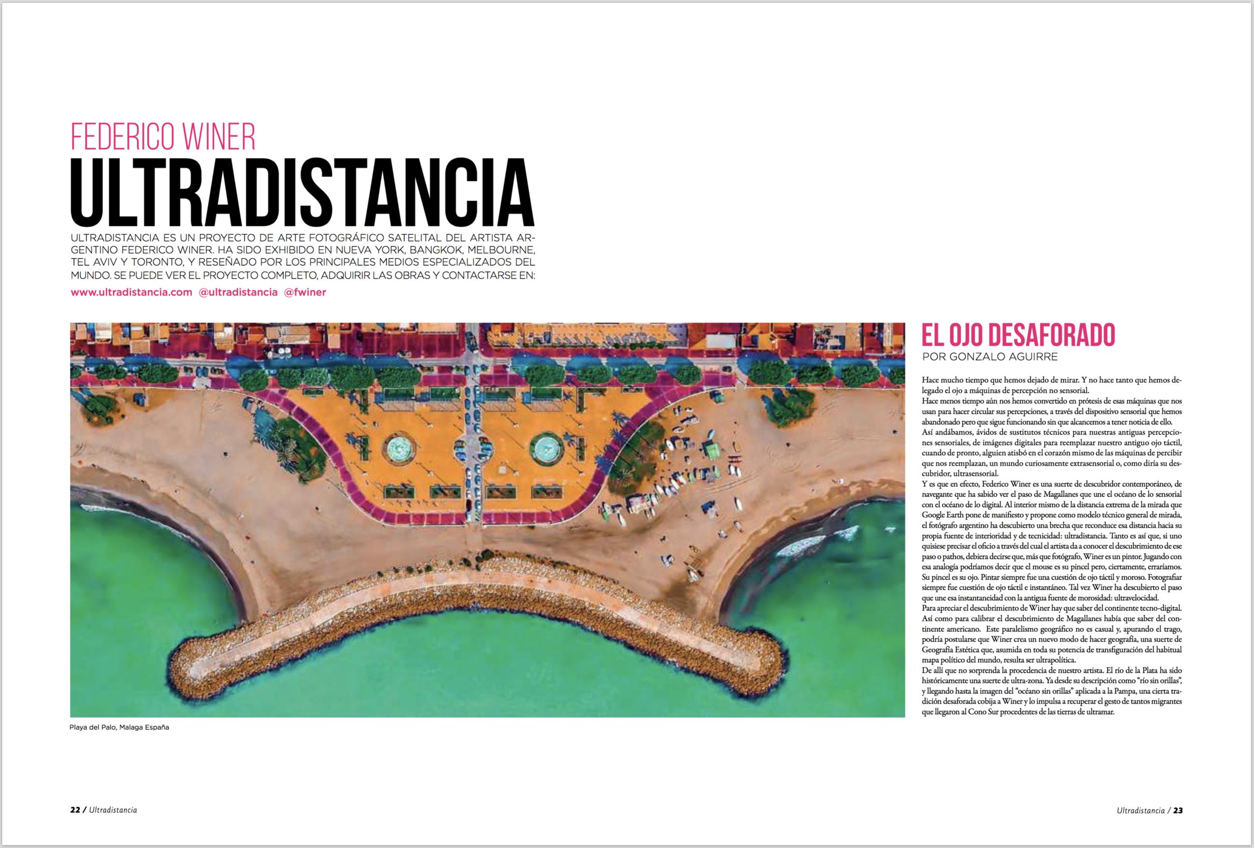 Magazine: MARCOPOLO ALMUNDO. September 16 edition