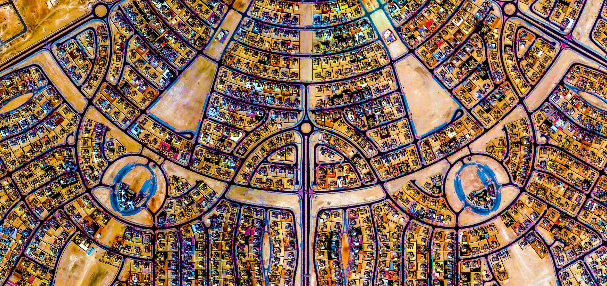 AL FALAH  Abu Dhabi, UAE.  Featured in Google Earth's Voyager  Renderings