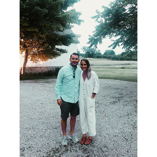 "kicked off our month up north with a beautiful evening at the place we said ""i do"". amazing food & even better company. thanks @caterleelanau @freshexchange & @chet_offensive for a lovely night."