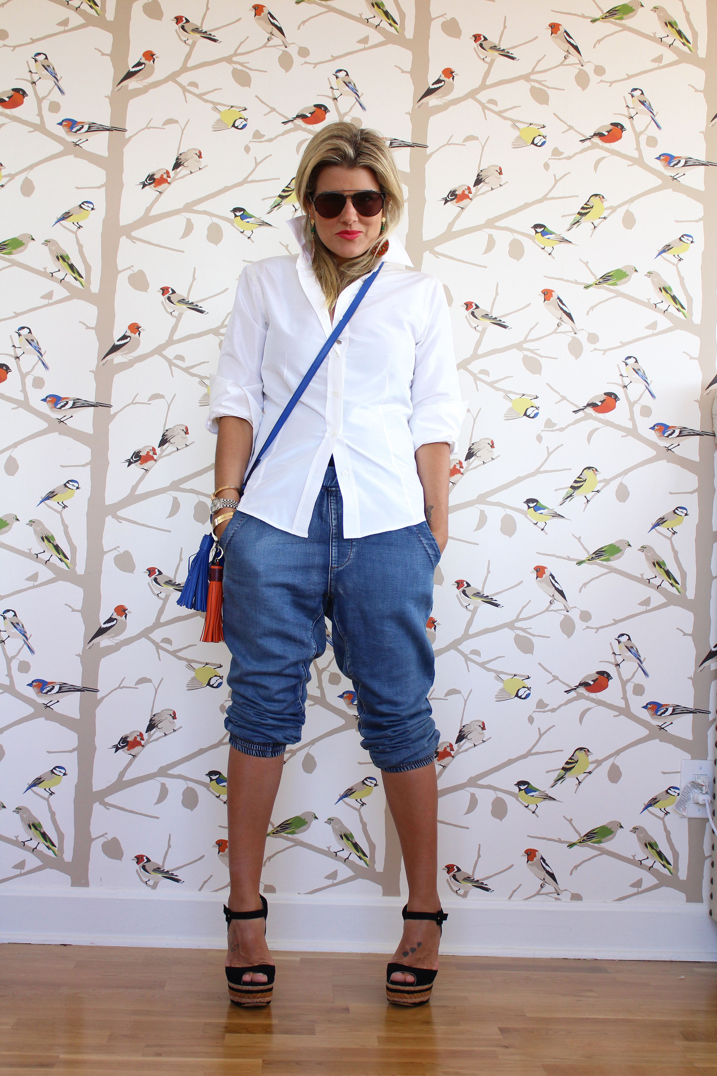 Blogzilla NYC - Jeans and white shirt
