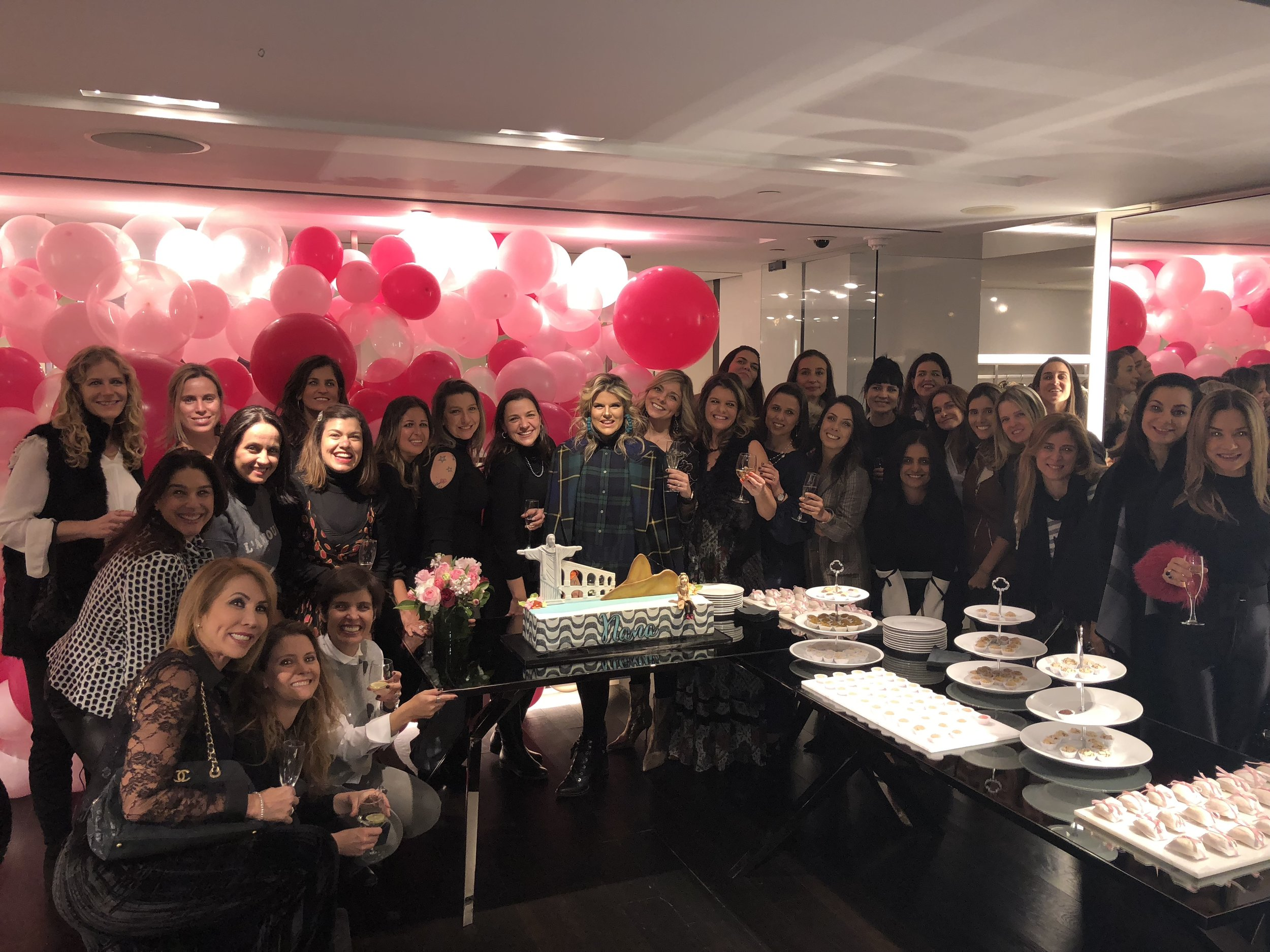 Nana Cunha Birthday Party Burberry Flagship New York