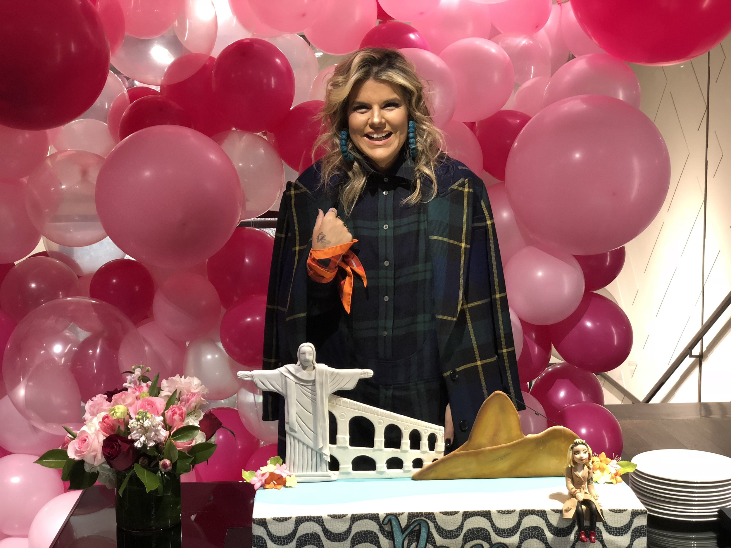 Nana Cunha Birthday Party - Burberry Flagship New York