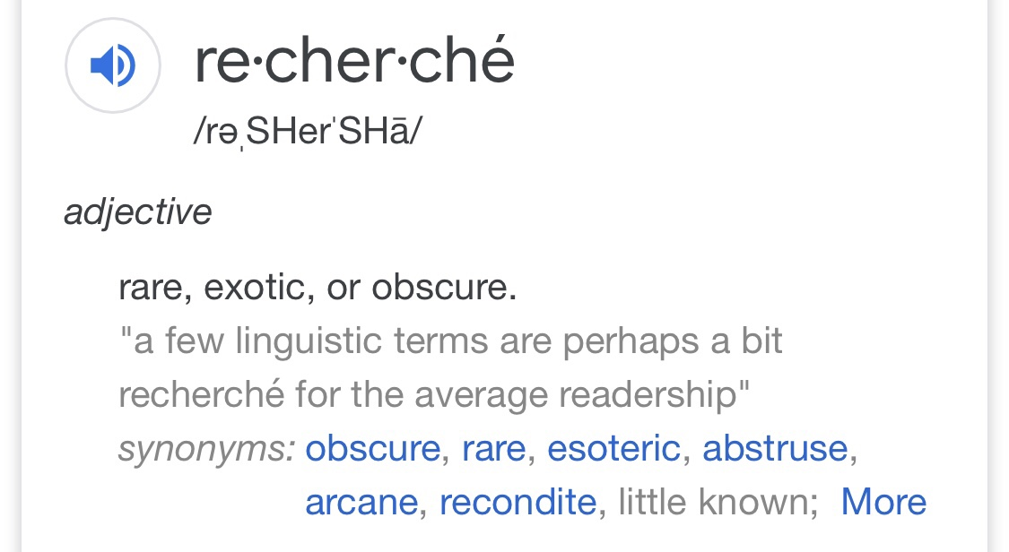 Esoteric Synonym