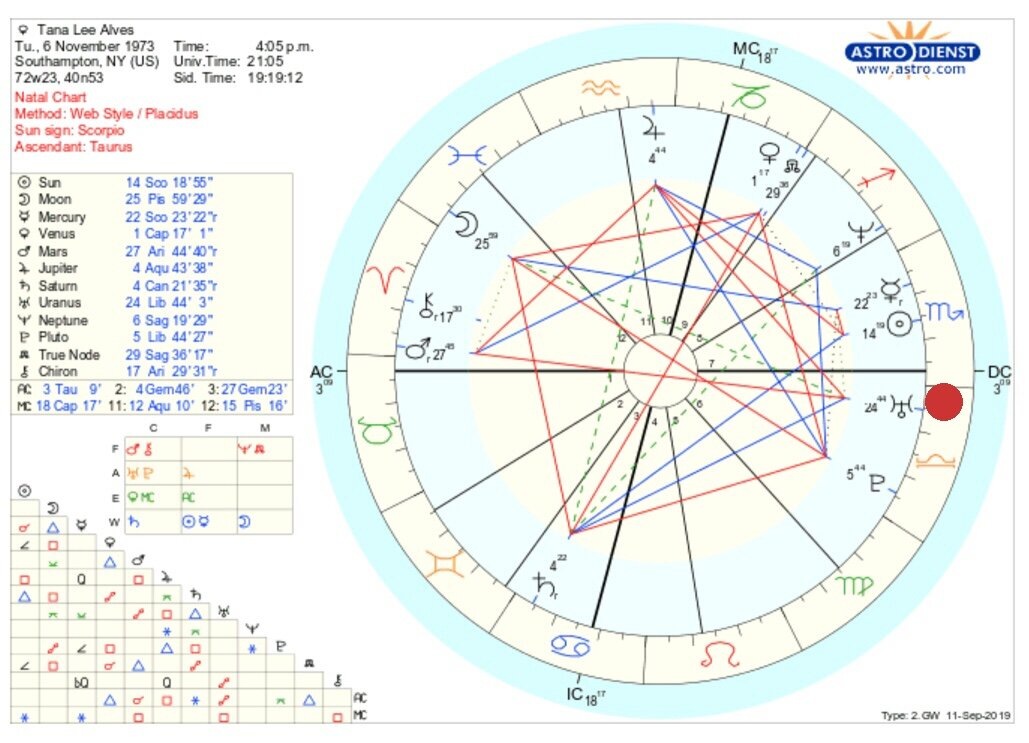 I put a red dot next to Uranus on my chart. We find it in the constellation of Libra which is associated with culture and Venus. It is in the 6th house which is associated with Virgo/Mercury. How does everything play out with Uranus situated there?    Napoleon also has Uranus in the 6th house but his is in Taurus - also a concept associated with Venus. Are there similarities in that one area of our functioning (of daily work activities/Mercury/6th house) that would reflect a fairly obvious similarity in our charts? My overarching goal in doing this Astrology project is to show that my natal chart reflects me and that his chart reflects him.