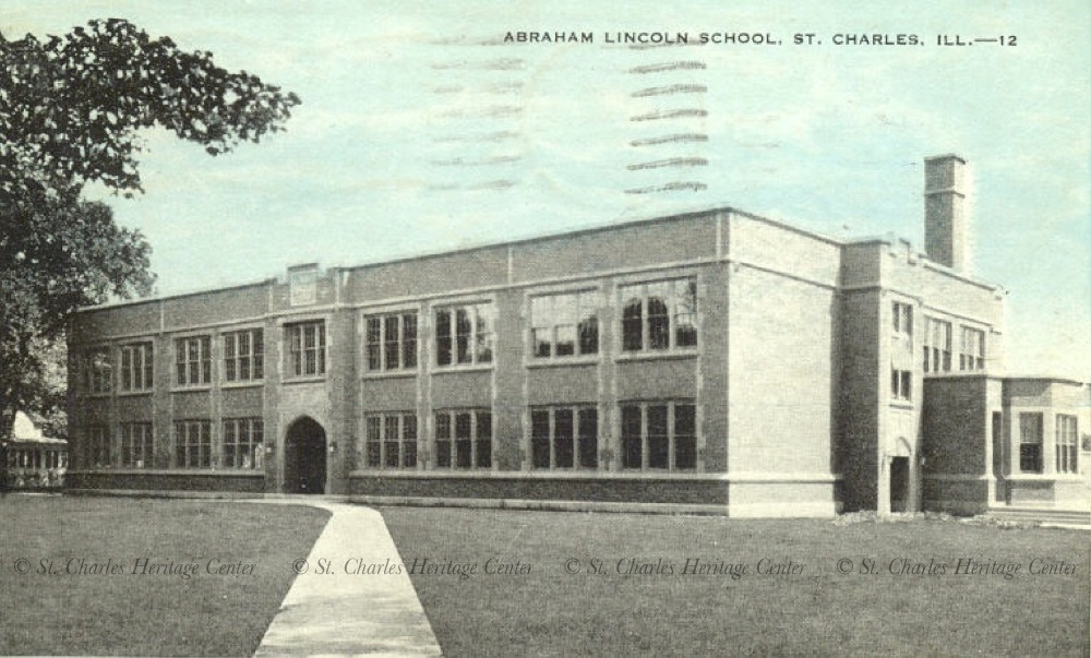 Lincoln Elementary School built in 1928