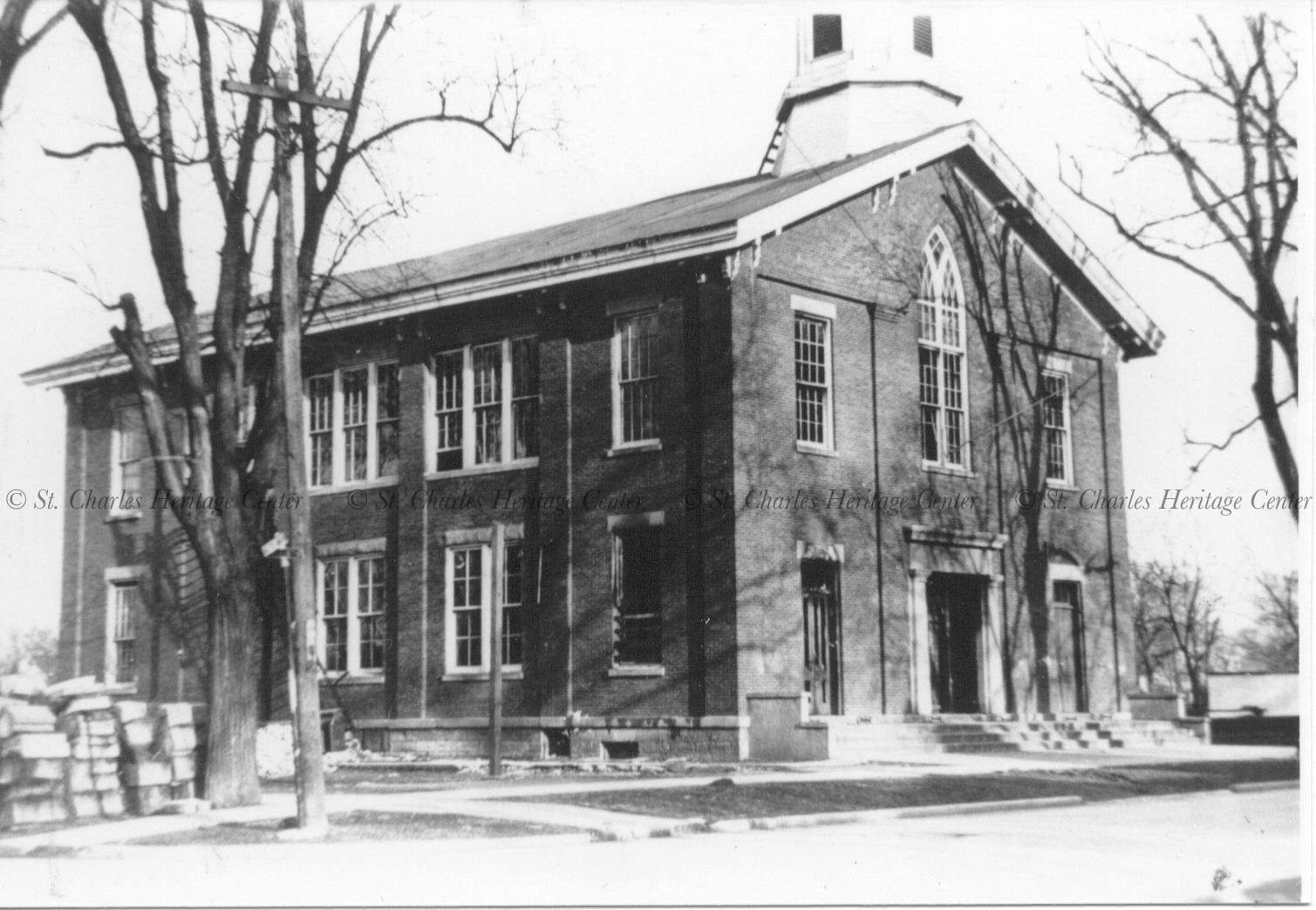 The old East Side School