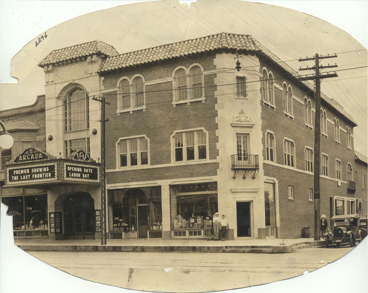 The Arcada Theatre opened 87 years ago today on September 6, 1926.