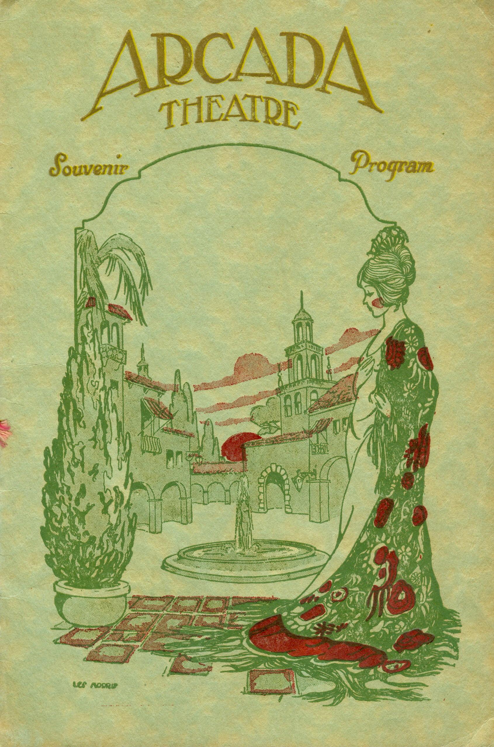 Arcada Theater Souvenir Brochure