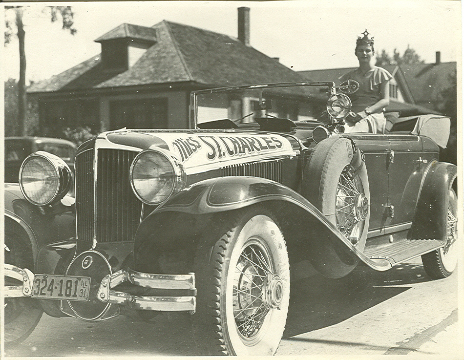From the early 1900s to just before the Great Depression, St. Charles residents took part in an event called the St. Charles Day Parade, c.1910s.