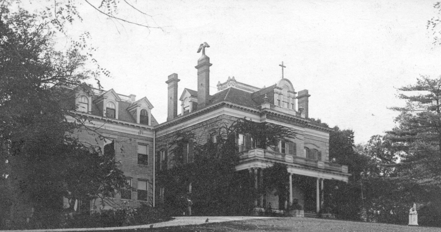 Built by John Farnsworth in 1860, this house remained in the Farnsworth family until 1879 when the family moved to Chicago.