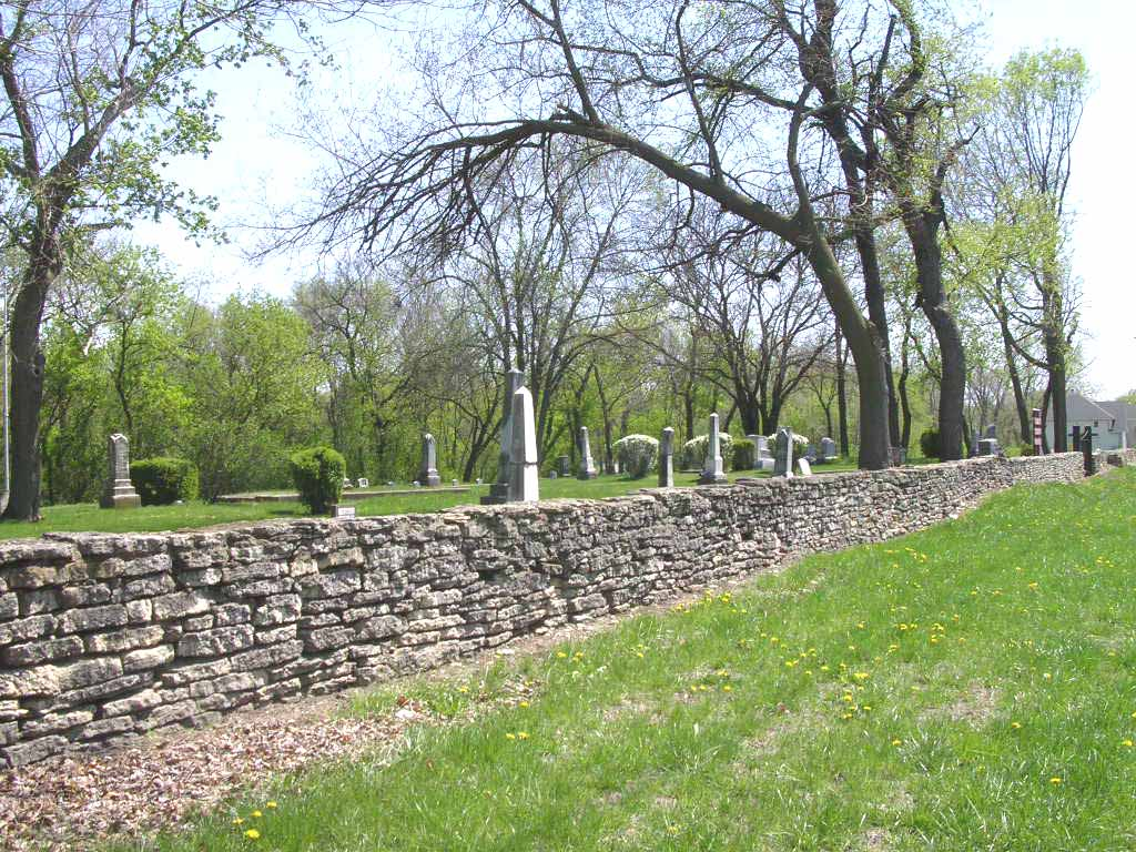 South Cemetery, c.1815.