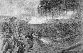 Battle of Beaver Dam Creek,  Courtesy of the National Park Service.