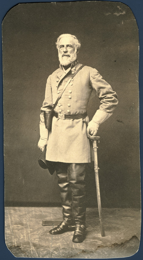 Robert E. Lee, (1807–1870), Courtesy of the Encyclopedia of Virginia.