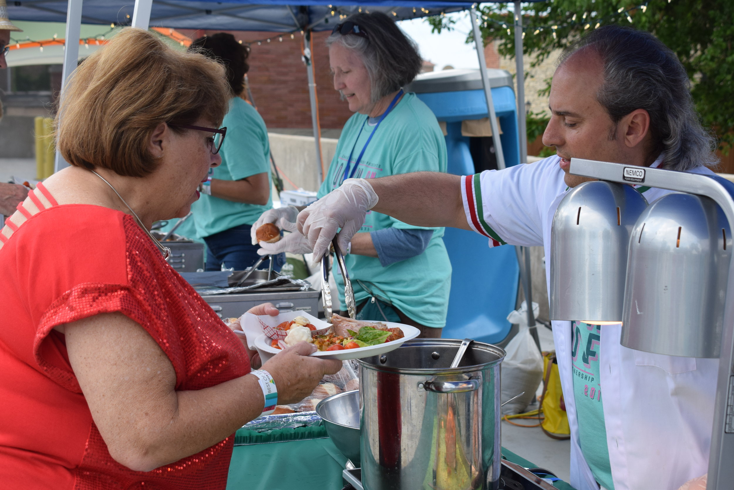 Food for the event was generously provided by Ron Onesti and Club Arcada