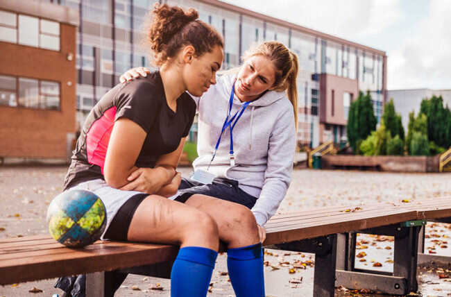 Mental Health Series: - An Athletic Trainer's Perspective