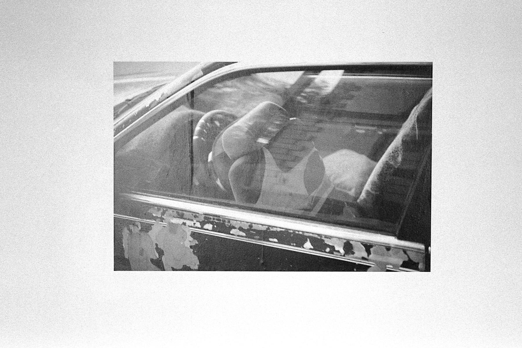 S/T, Impresión en papel tapiz, 80 x 120 cm.