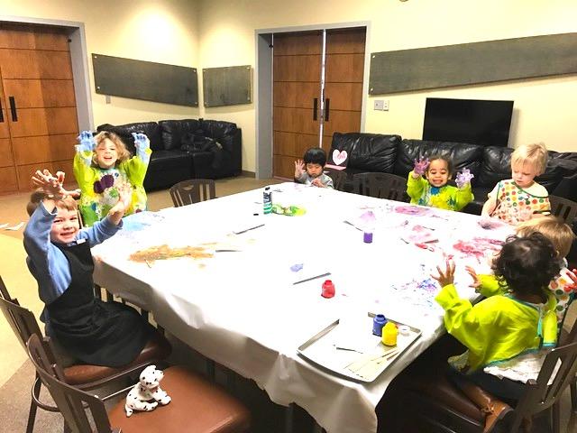 PreK kids messy.JPG