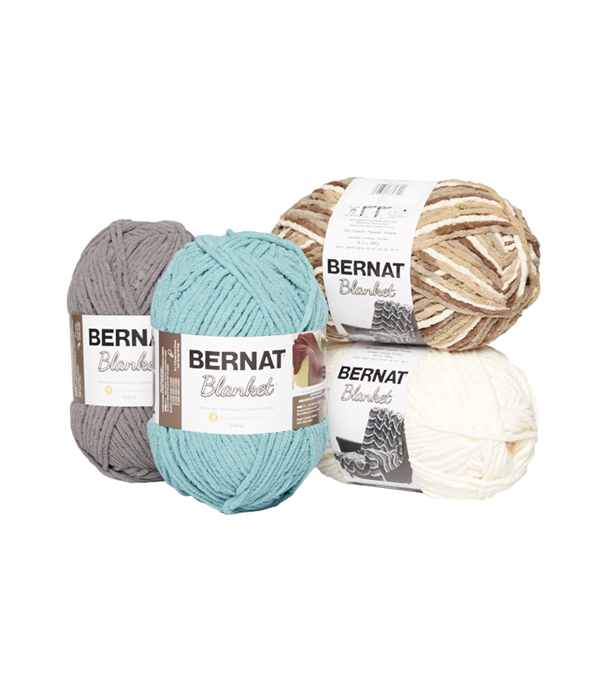 Sample colors for wraps and larger blankets