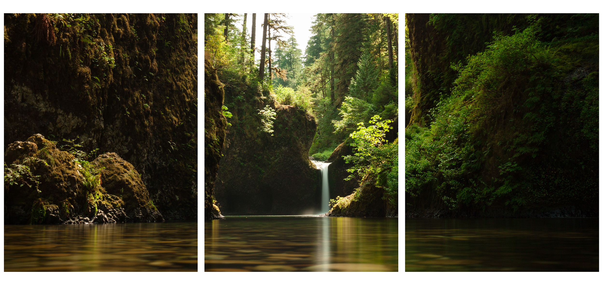 40x92 Triptych