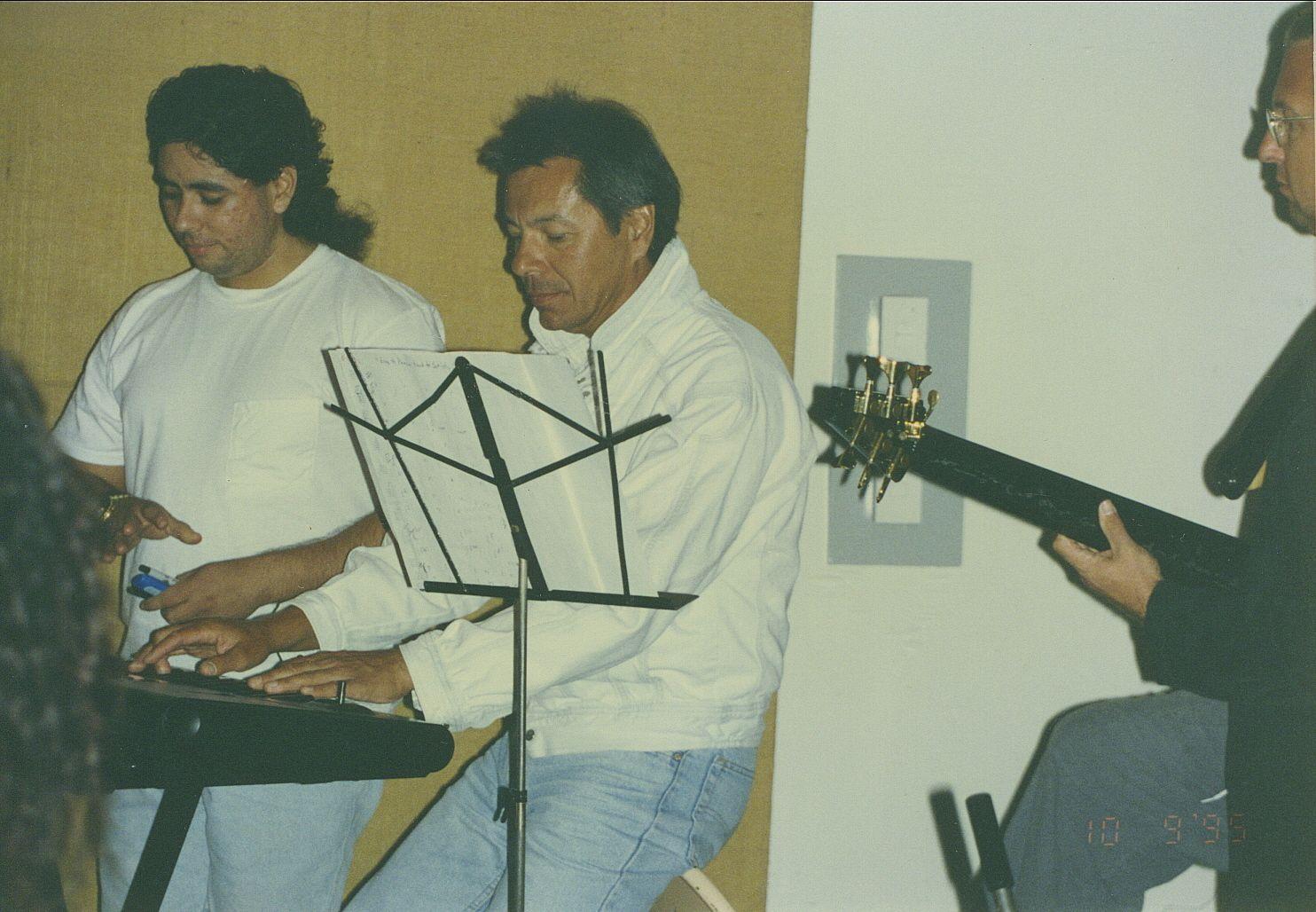 Don Luna Musical director Kim Gile Band