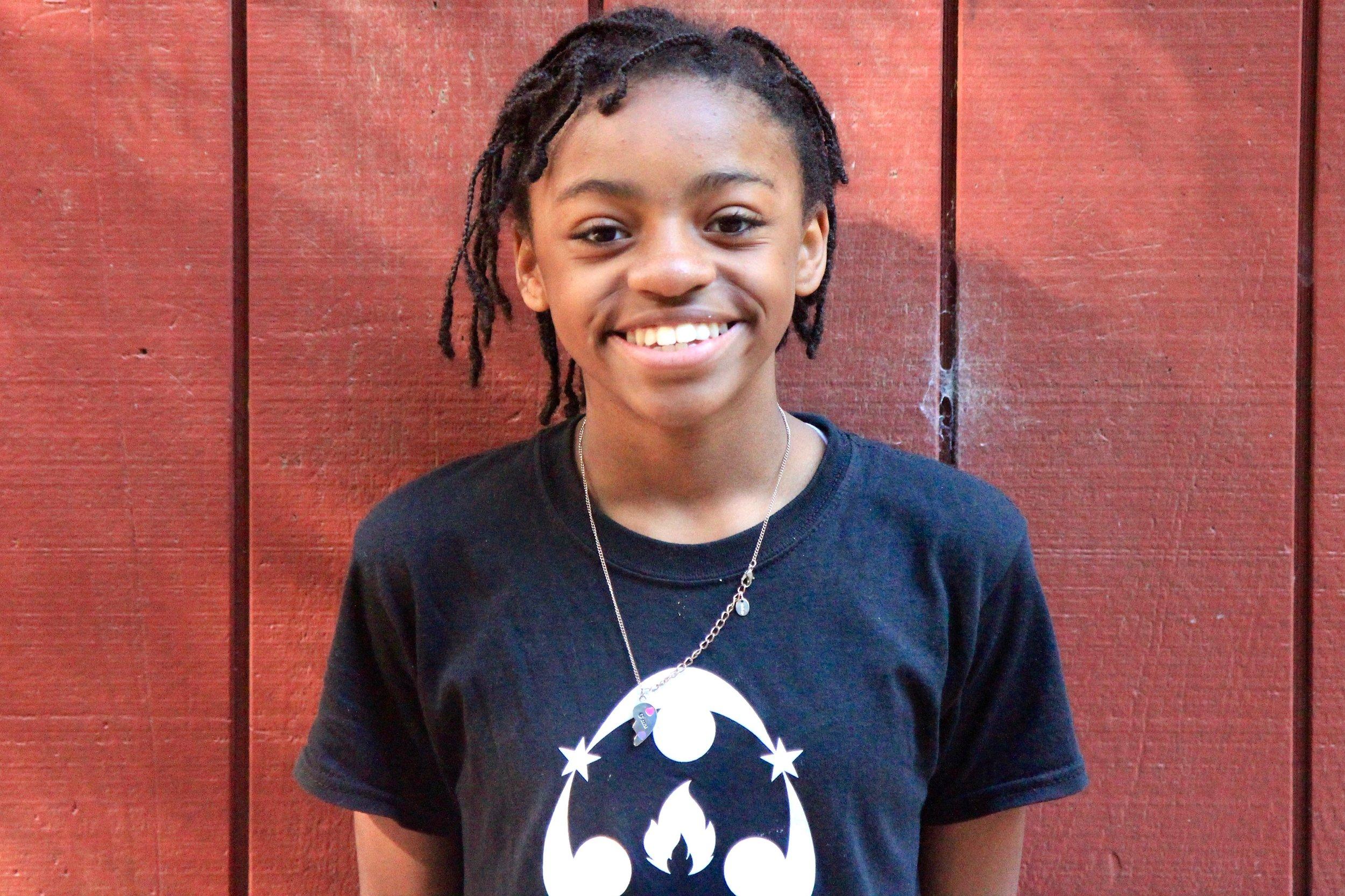 Ah'Maya Parker-Alexander, Gateway Middle School, San Francisco