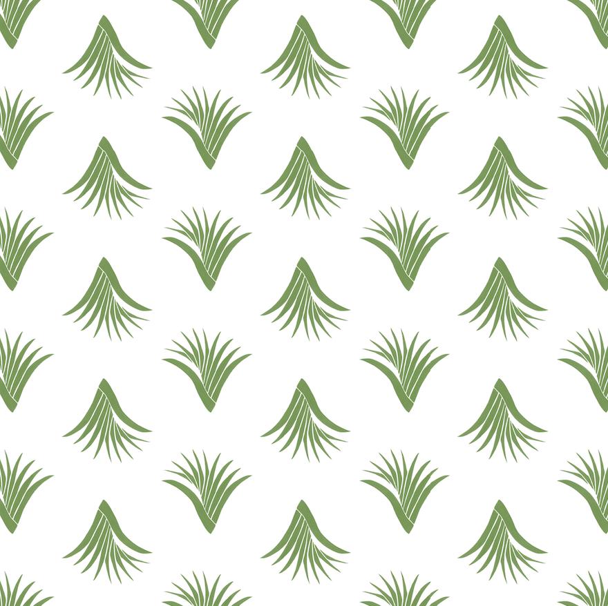 Pandanus Leaf Pattern