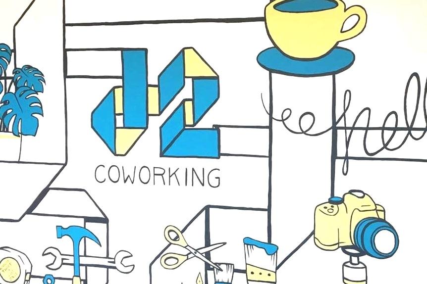 Junction 2Coworking - Mural