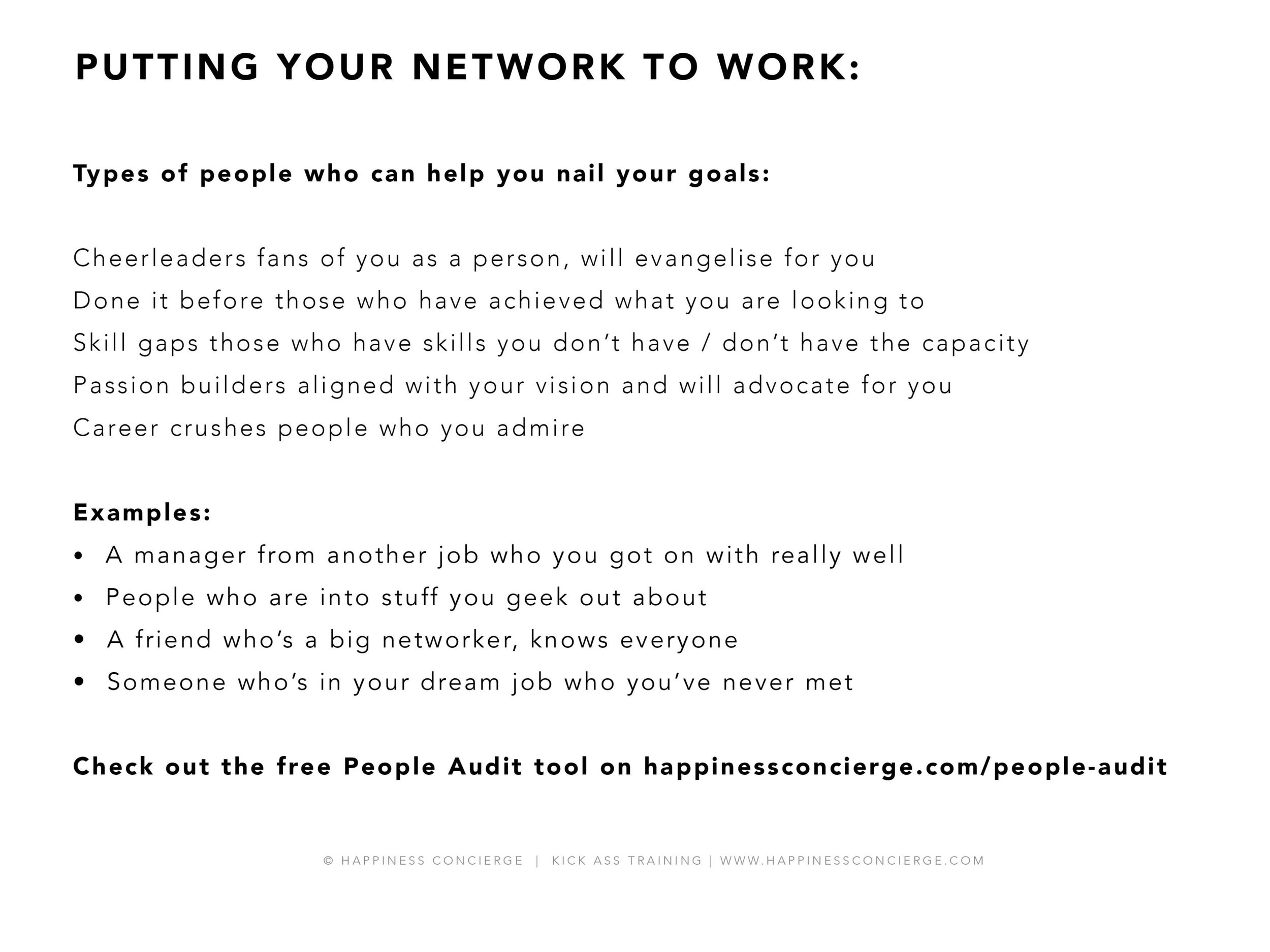 Check out the  People Audit  tool.