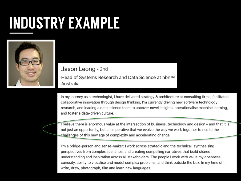 Check out Jason Leong's  LinkedIn profile !