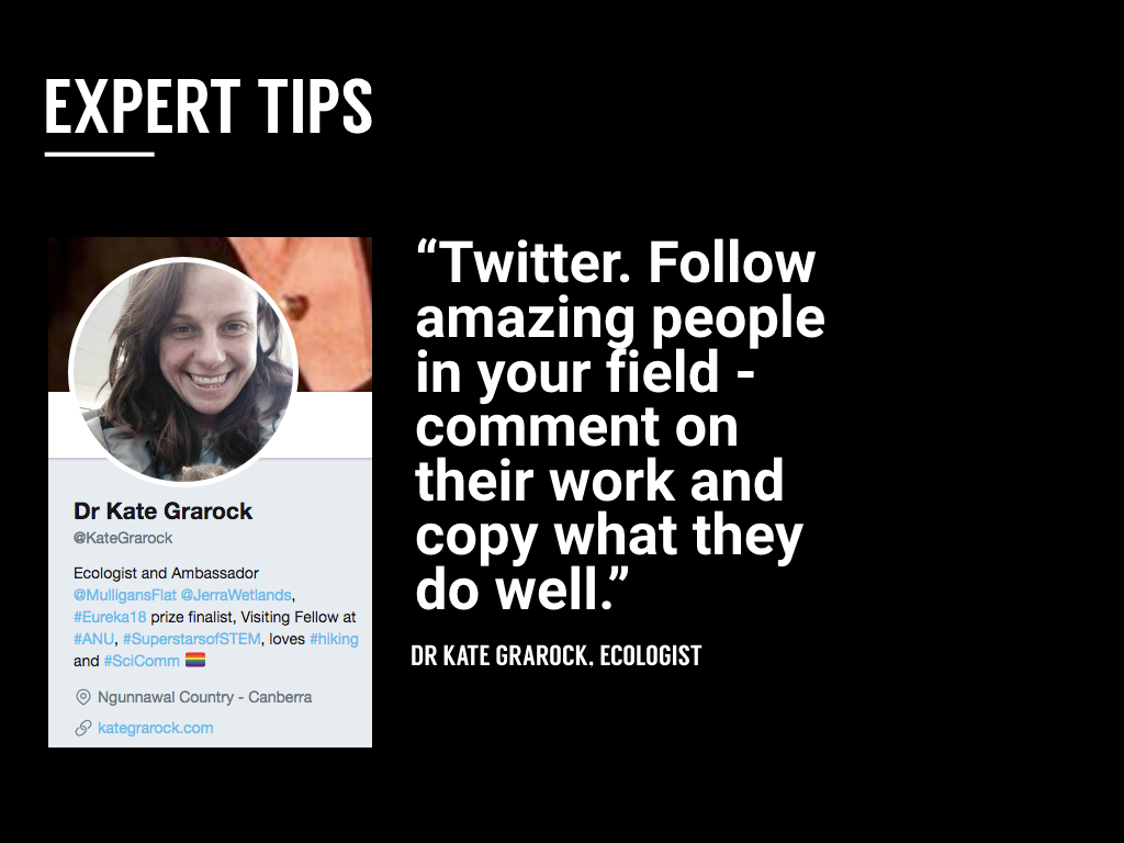 Dr Kate Grarock  Twitter