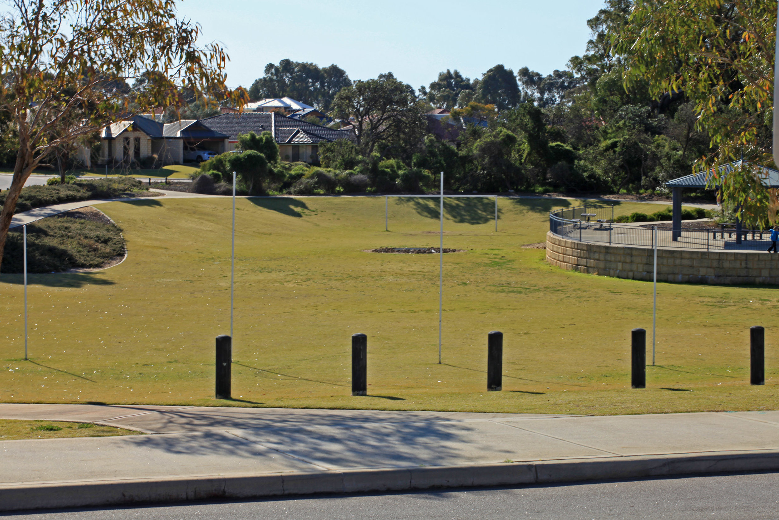 Fig 1: Neighbourhood park in a low density suburb