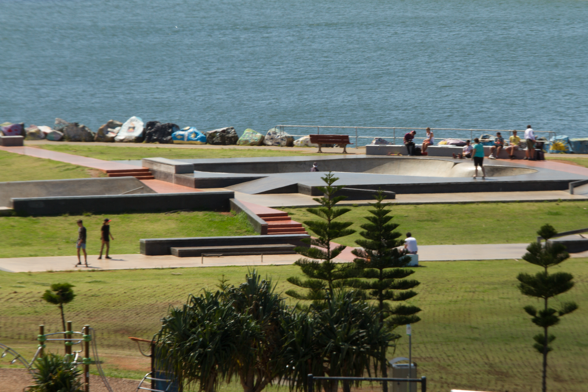 Fig 10: Skate park in Port Macquarie in NSW