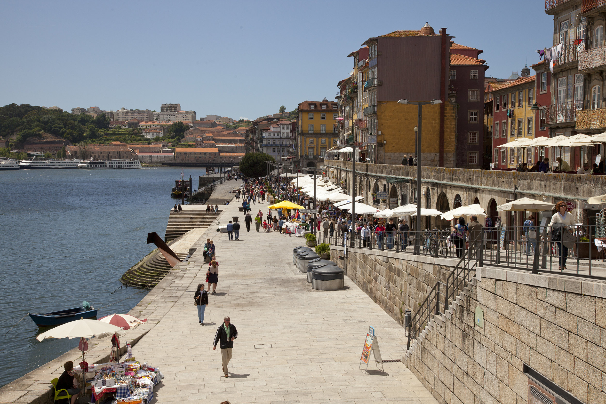 Fig 1: Popular water front boulevard in Porto, Portugal