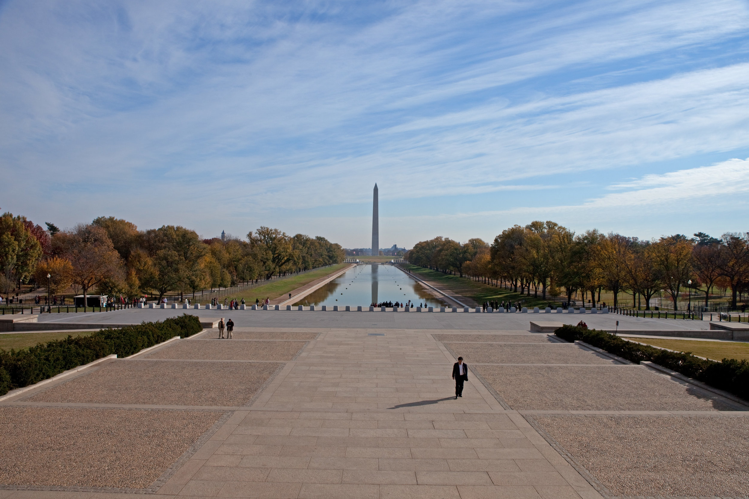 Fig 4: View of the Washington Mall