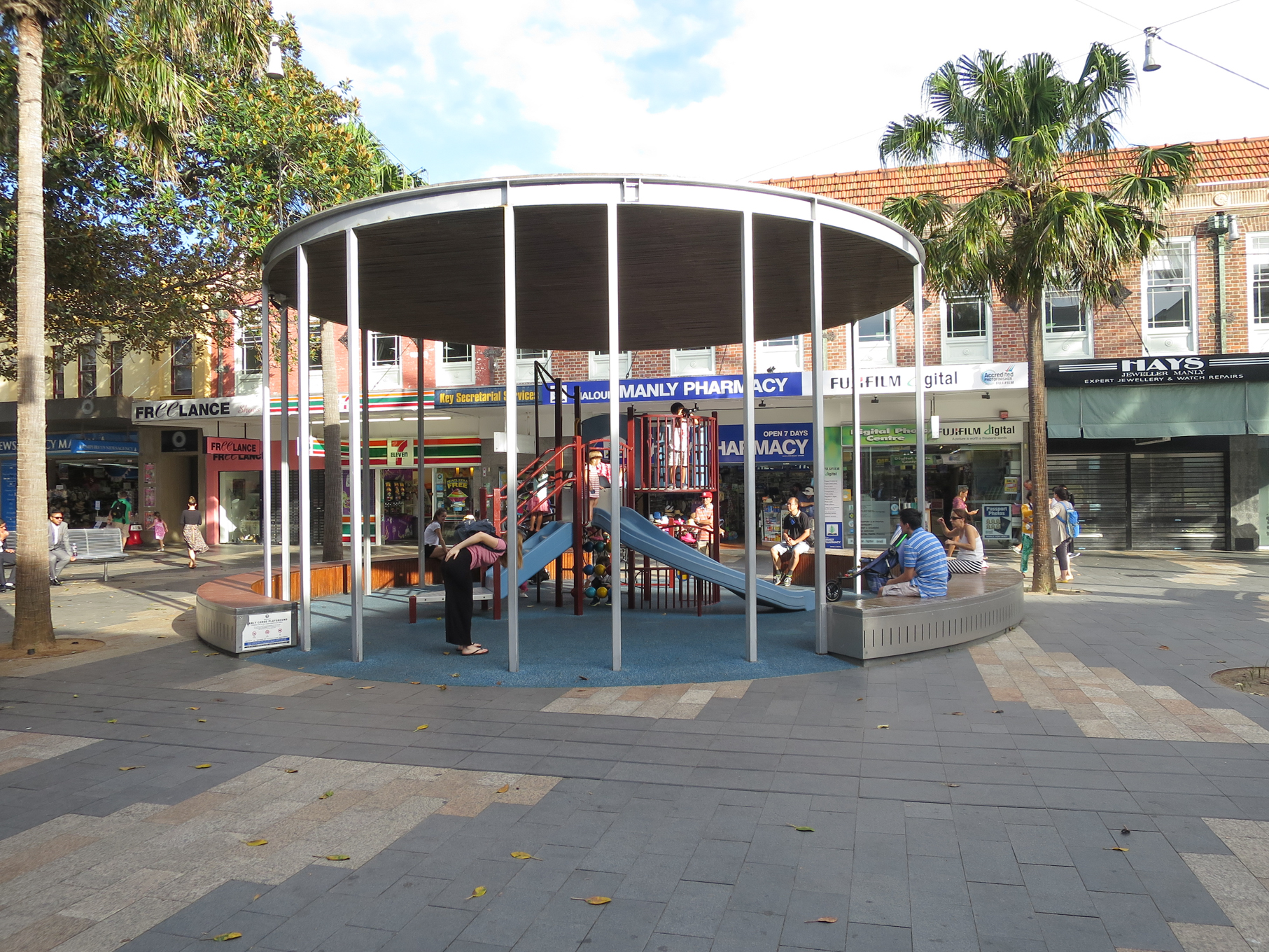 Fig 11: Playground in Manly shopping mall