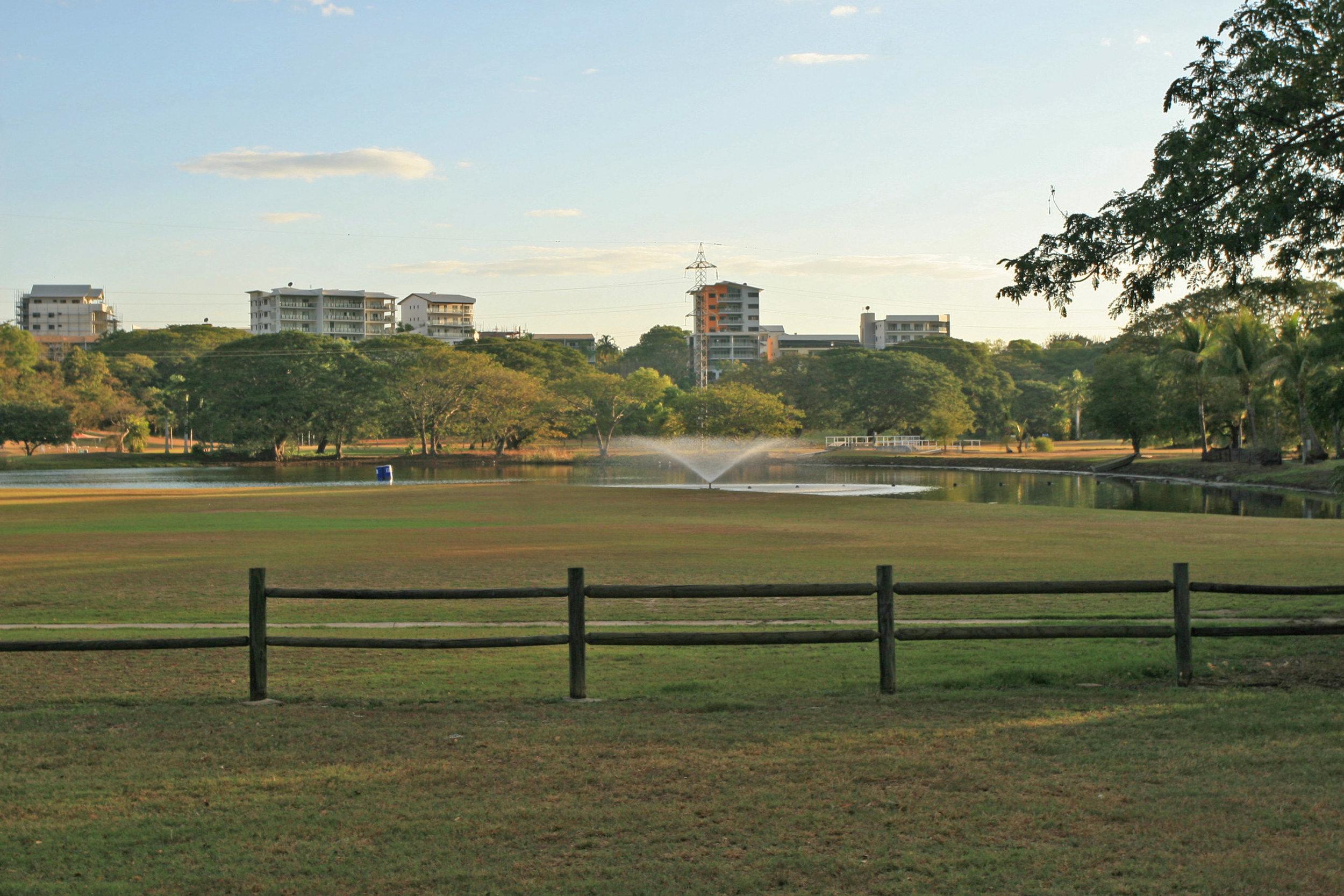 Fig 20: City park in Darwin