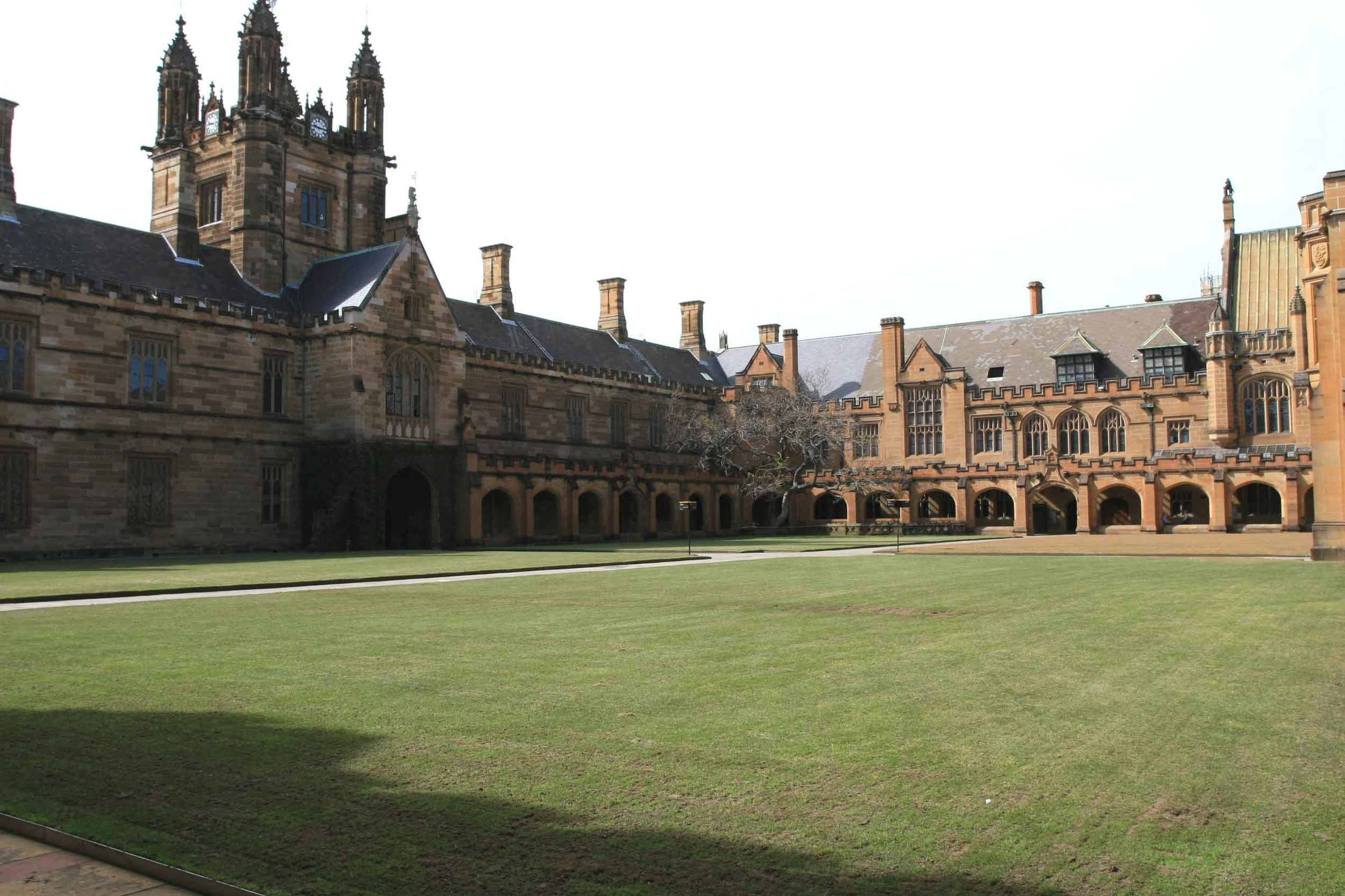 Fig 30: More private open space in Sydney University