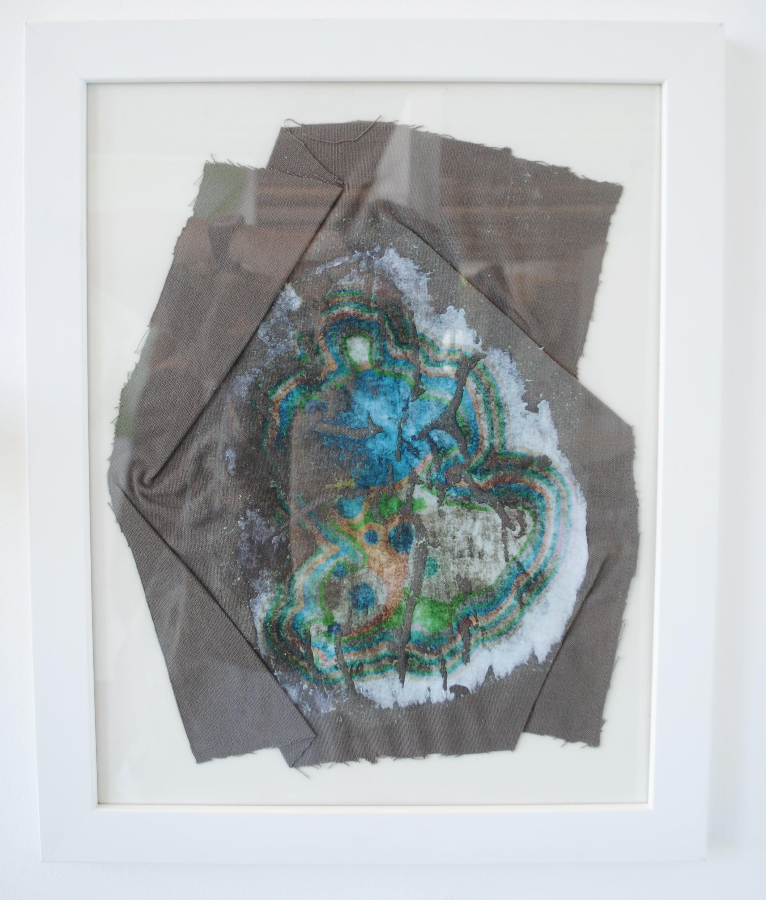 Dishcloth ,inkjet print transfer on dish cloth, 43 x 35cm   Enquire