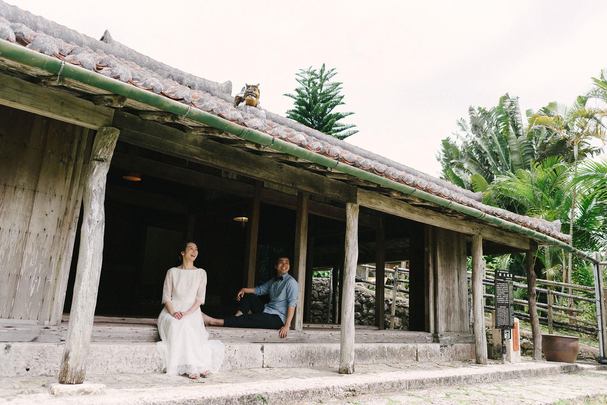 屋内撮影ができるのも琉球村の特徴の一つ