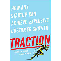 Traction, Gabriel Weinberg and Justin Mares - Verdict: Also a bible-like tome on growing business. The book introduces three valuable concepts: 50% rule stating that your time should be split between product and growth, overview and practical tips to gain awareness in almost every imaginable marketing channel, and a bullseye model to systemise your awareness-building effort. (5/5)