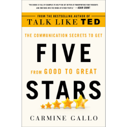 Five Stars, Carmine Gallo - Verdict: The book contains a collection of mindsets, methods and frameworks to improve your speaking skills — a useful handbook for speakers, presenters or to anyone who talks with other people really. (5/5)