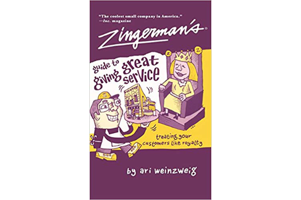 Zingerman's Guide to Giving Great ServiceAri Weinzweig - Zingerman's community of businesses is widely praised for its service. The book introduces the principles behind the success: