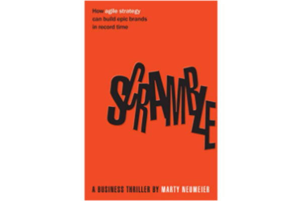 ScrambleMarty Neumeier - An animated fable on the strategy design process. This book is excellent to understand agile strategy process through the eyes of a fictitious, but at the same time authentic, CEO who is facing a considerable challenge.(5/5)
