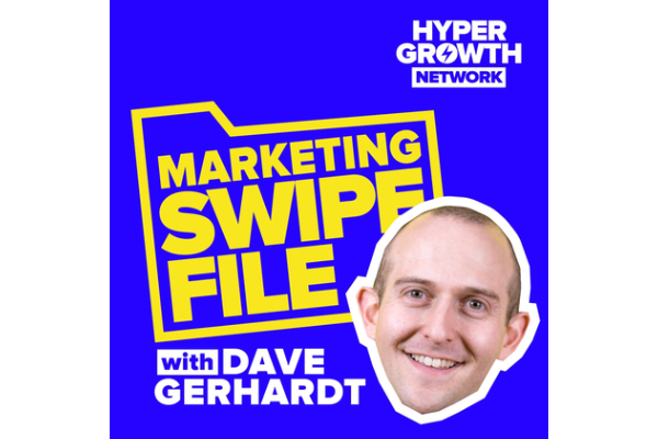 Marketing Swipe FileDave Gerhardt - Dave does marketing for marketers. Marketing Swipe File is one of his channels for sharing the real tactics and strategies that the best marketers are using right now.The Missing Ingredient in Your B2B CopywritingBe specific in your writing — that's what Dave calls as the missing ingredient.