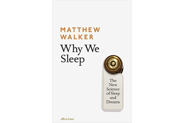"""Why We SleepMatthew Walker - Matthew barrages the reader with countless reasons why sleeping is important. So I took heed, did not finish the book, and slept. Lessons learned!""""A balanced diet and exercise are of vital importance, yes. But we now see sleep as the preeminent force in this health trinity."""" - Matthew Walker(3/5)"""