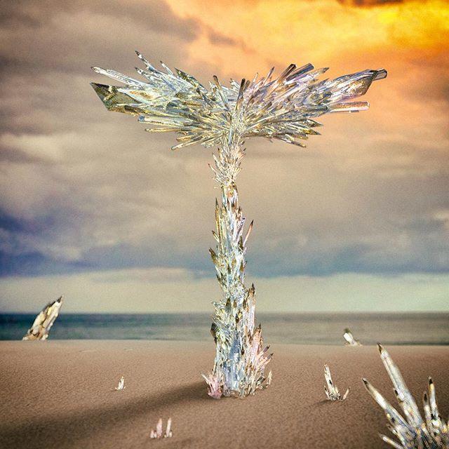 #36daysoftype05 #36days_t #36daysoftype #treeofglass #annihilation #tribute