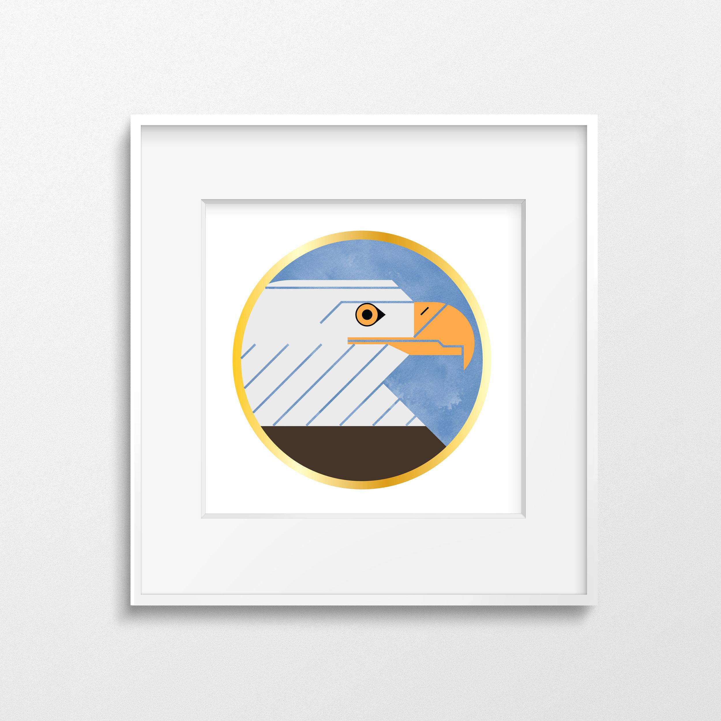 Bald Eagle White Frame2 (Thin).jpg