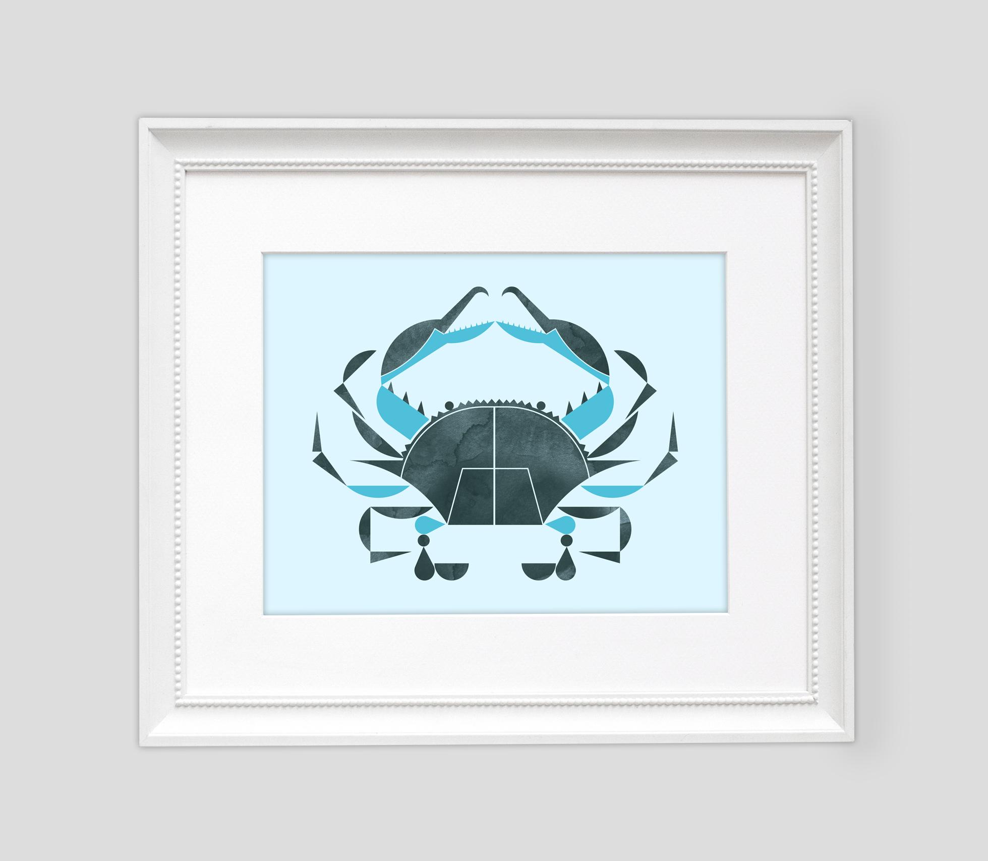 Blue Crab Framed2.jpg